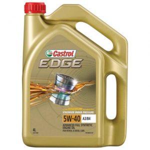 Castrol 5W40 Oil